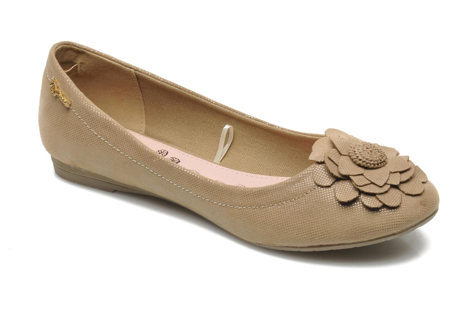 Ballet pumps Refresh Kourwato 2 Beige detailed view/ Pair view