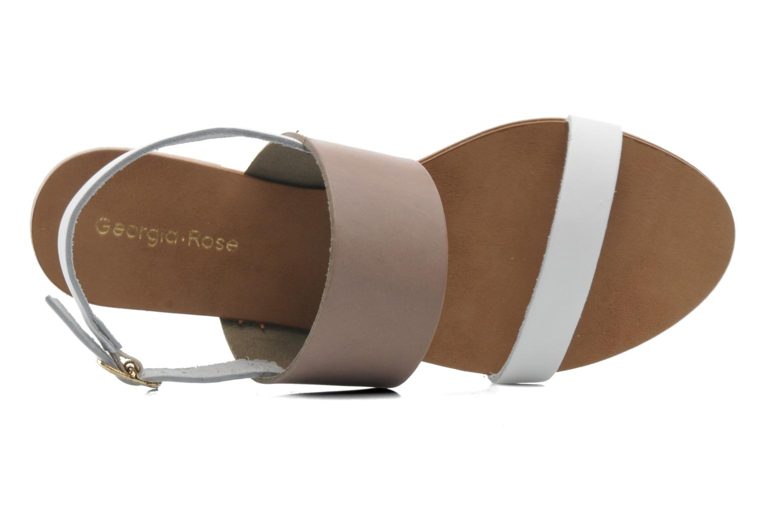 Sandals Georgia Rose Lulzy Beige view from the left