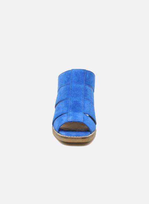 Mules et sabots Shellys London BARDY Bleu vue portées chaussures