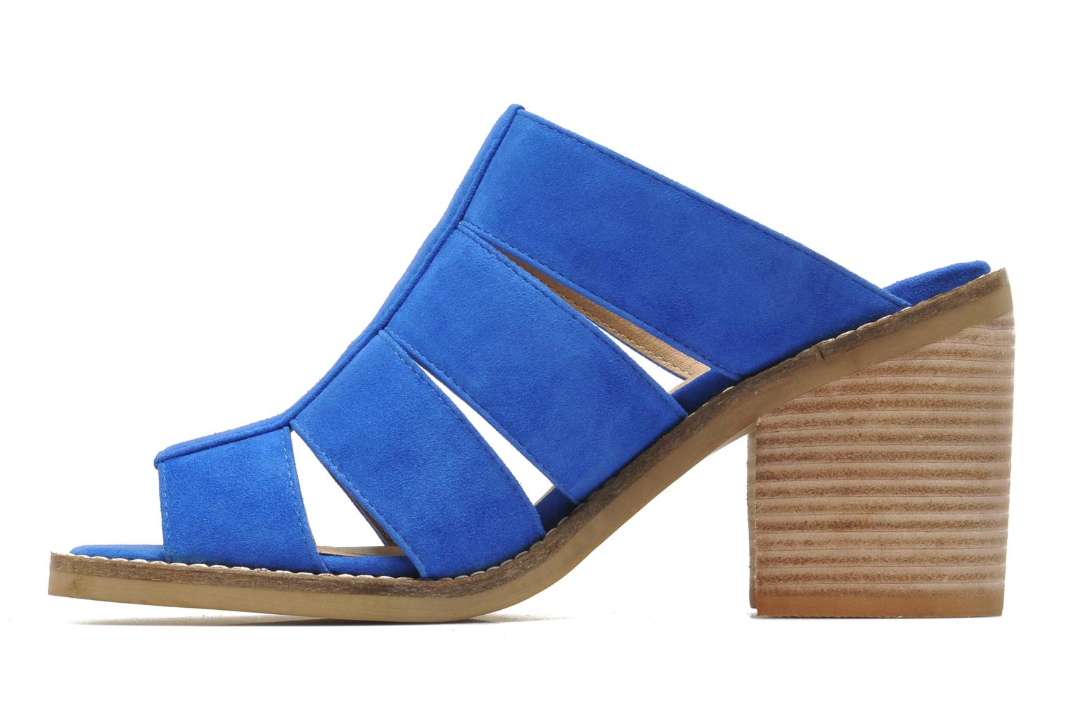 Mules & clogs Shellys London BARDY Blue front view