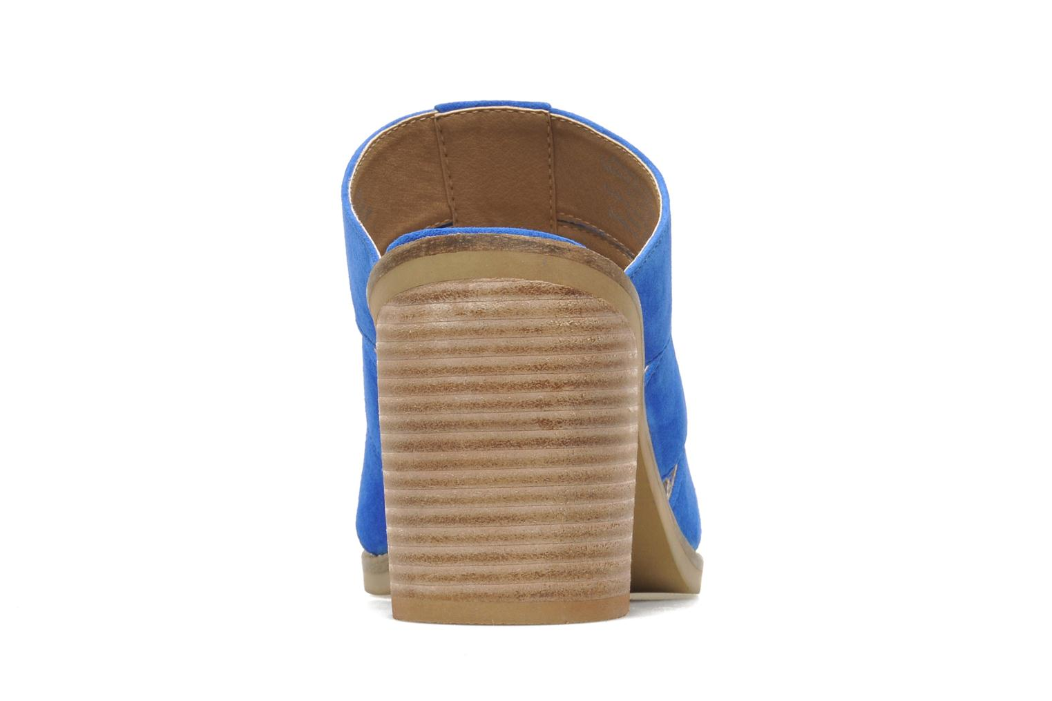 Mules & clogs Shellys London BARDY Blue view from the right