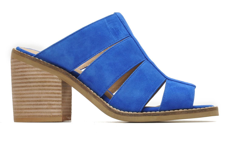 Zuecos Shellys London BARDY Azul vistra trasera