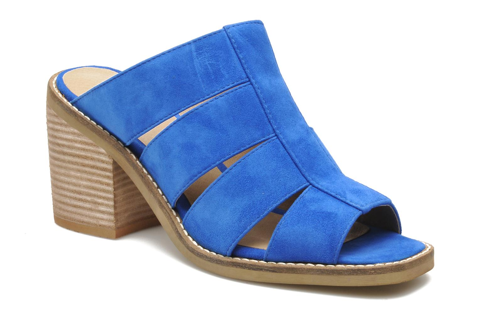 Mules & clogs Shellys London BARDY Blue detailed view/ Pair view