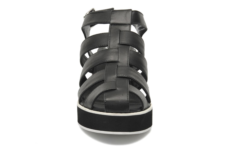 Sandals Shellys London NYDILLA Black model view