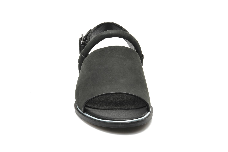 Sandales et nu-pieds Shellys London SALVANT Noir vue portées chaussures