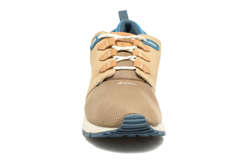 Baskets Element Mitake Beige vue portées chaussures