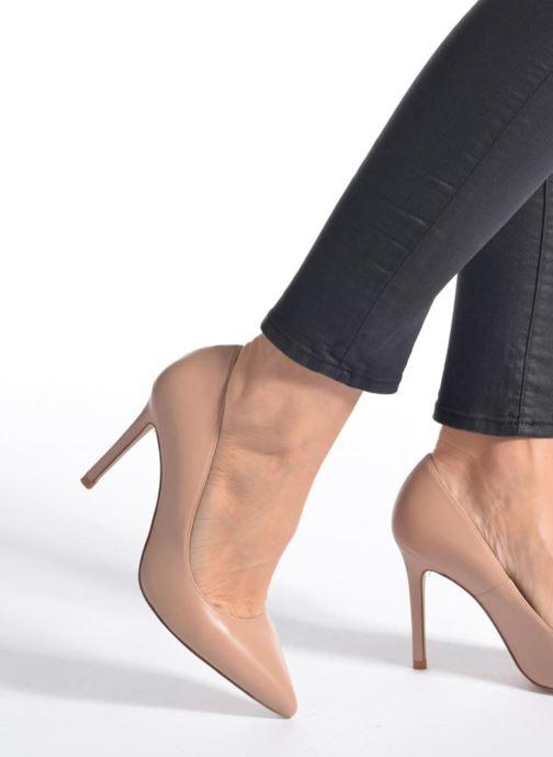 High heels L.K. Bennett Fern Beige view from underneath / model view