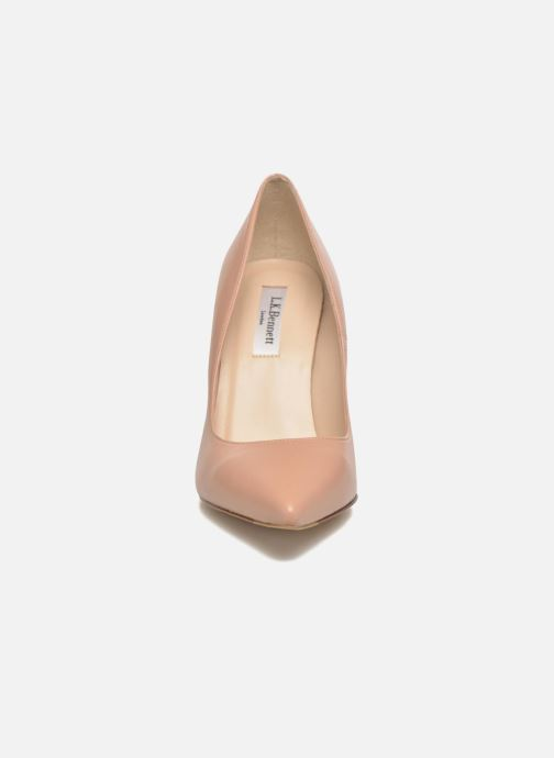 Escarpins L.K. Bennett Fern Beige vue portées chaussures