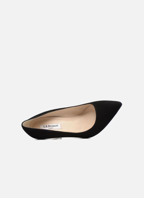 Zapatos de tacón L.K. Bennett Fern Negro vista lateral izquierda