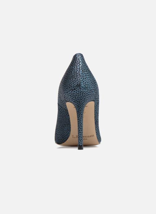 Zapatos de tacón L.K. Bennett Fern Azul vista lateral derecha