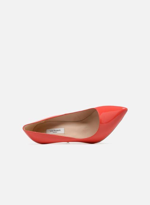 Zapatos de tacón L.K. Bennett Fern Naranja vista lateral izquierda
