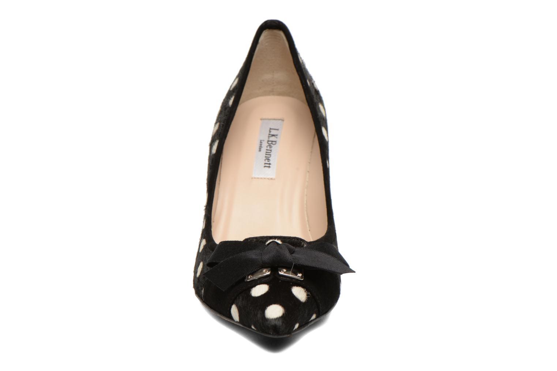 Escarpins L.K. Bennett Irene Noir vue portées chaussures