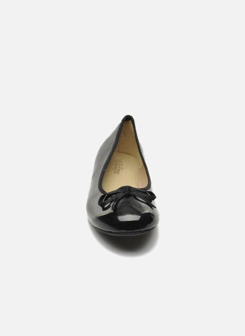 Ballerines Eclipse Ballerine classique vernis Noir vue portées chaussures