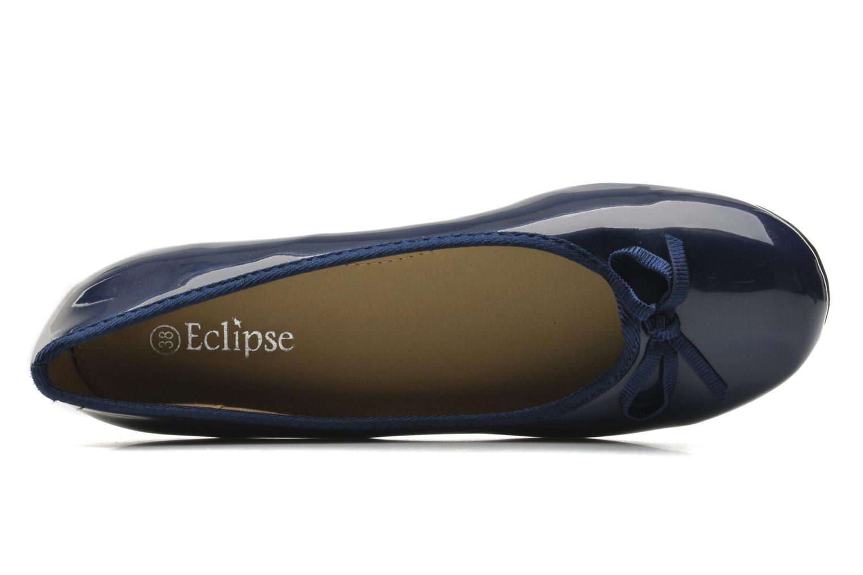 Ballerines Eclipse Ballerine classique vernis Bleu vue gauche