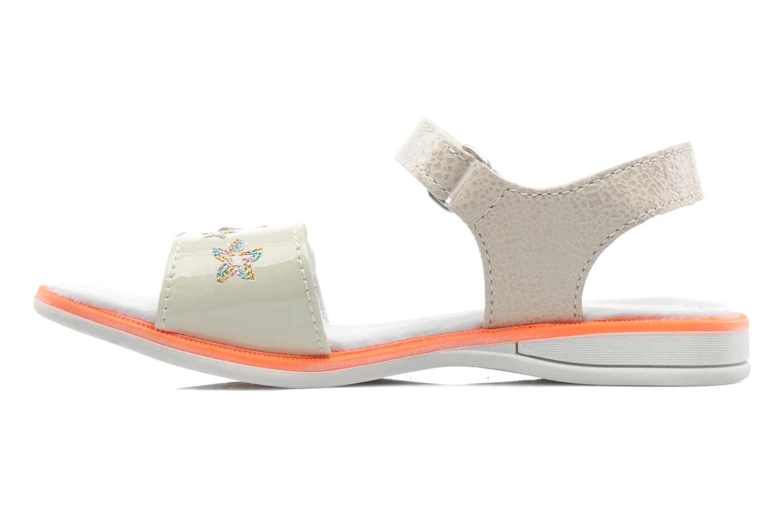 Sandales et nu-pieds GBB IRAIS Gris vue face