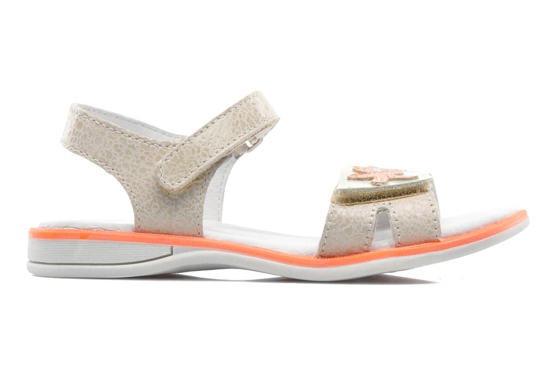 Sandales et nu-pieds GBB IRAIS Gris vue derrière