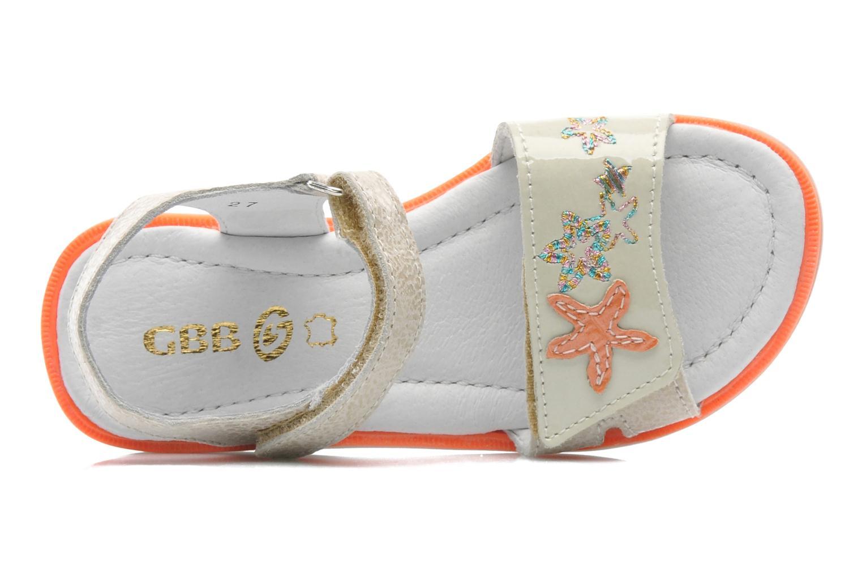 Sandales et nu-pieds GBB IRAIS Gris vue gauche