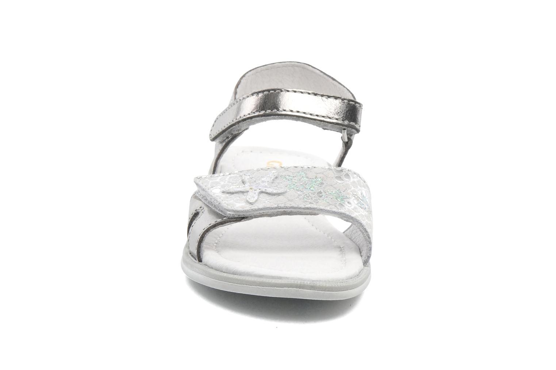 Sandals GBB IRAIS Silver model view