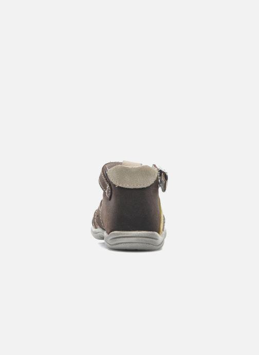 Sandales et nu-pieds Little Mary SLALOM Marron vue droite