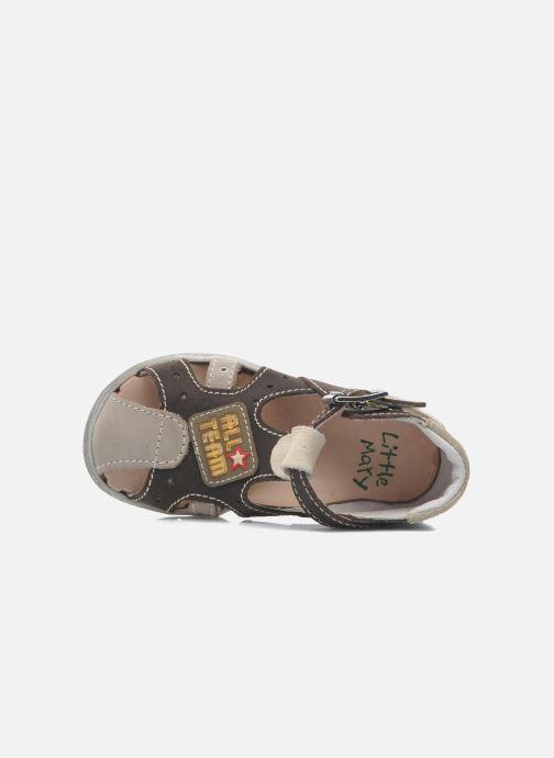 Sandales et nu-pieds Little Mary SLALOM Marron vue gauche
