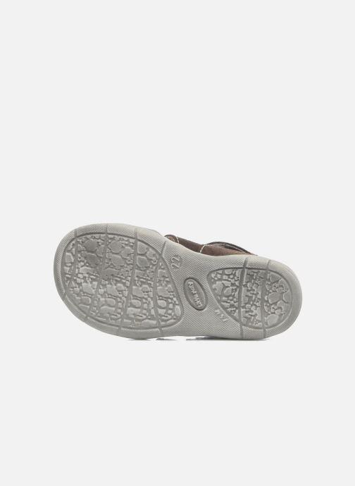Sandales et nu-pieds Little Mary SLALOM Marron vue haut