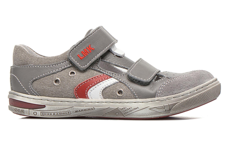 Chaussures à scratch Little Mary SALVATORE Gris vue derrière