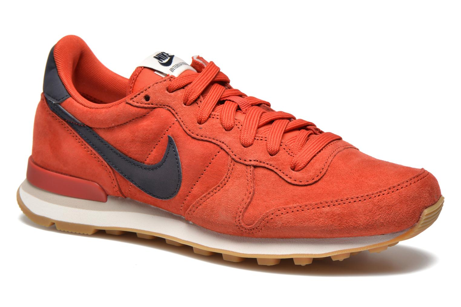 on sale 38541 7f602 Trainers Nike Nike Internationalist Leather Red detailed view Pair view ...