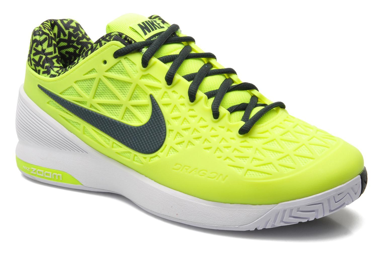 Nike Nike 2 Zoom Cage 2 Nike Jaune Chaussures de sport chez Sarenza d9eb55