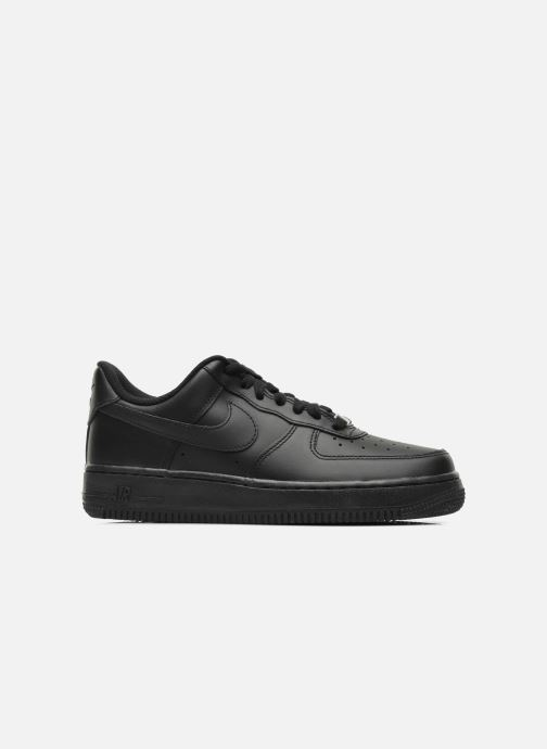 Trainers Nike Wmns Air Force 1 '07 Black back view