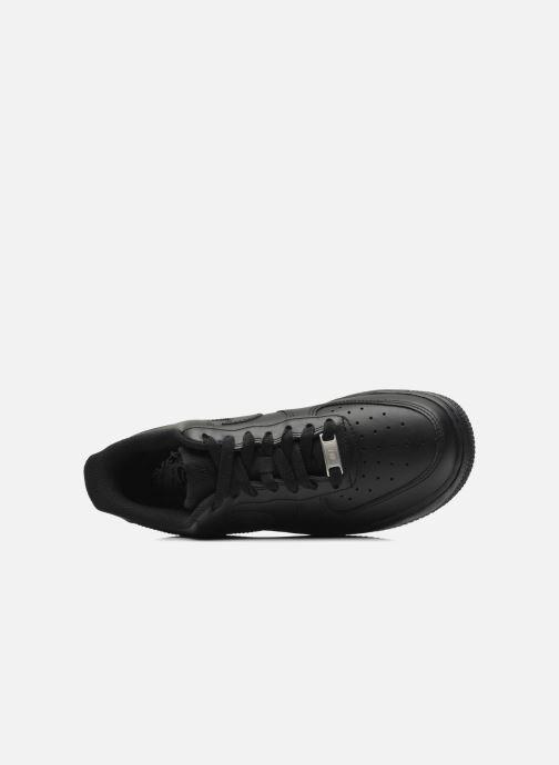 Deportivas Nike Wmns Air Force 1 '07 Negro vista lateral izquierda