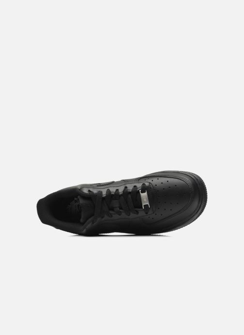 Trainers Nike Wmns Air Force 1 '07 Black view from the left