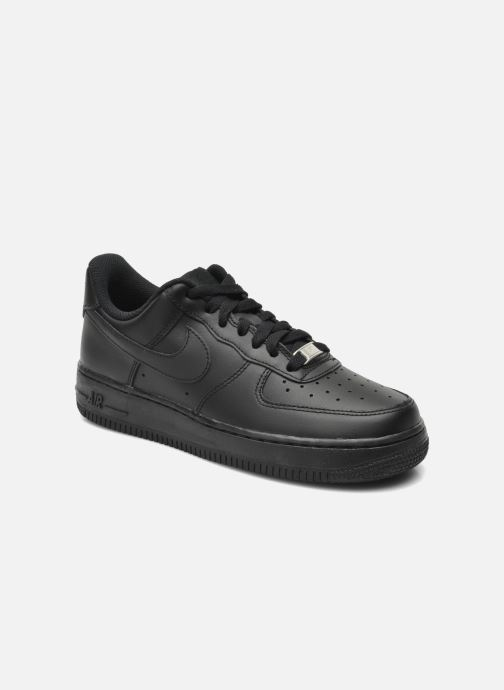 Trainers Nike Wmns Air Force 1 '07 Black detailed view/ Pair view