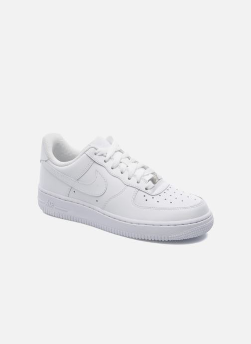 Deportivas Nike Wmns Air Force 1 '07 Blanco vista de detalle / par