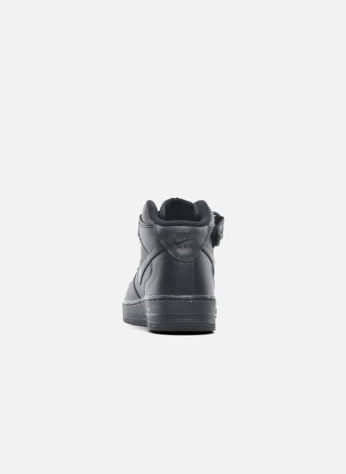 Sneakers Nike Wmns Air Force 1 Mid '07 Le Zwart rechts