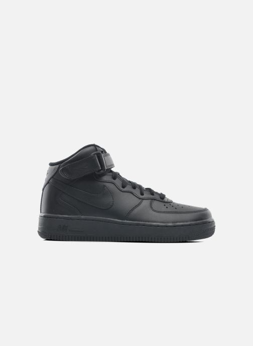 Trainers Nike Wmns Air Force 1 Mid '07 Le Black back view