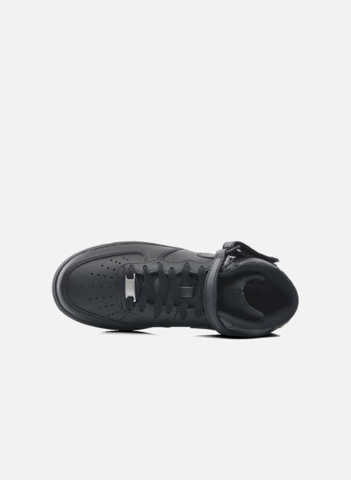 Sneaker Nike Wmns Air Force 1 Mid '07 Le schwarz ansicht von links