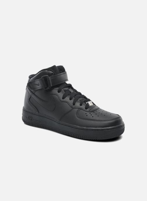 Sneakers Nike Wmns Air Force 1 Mid '07 Le Svart detaljerad bild på paret