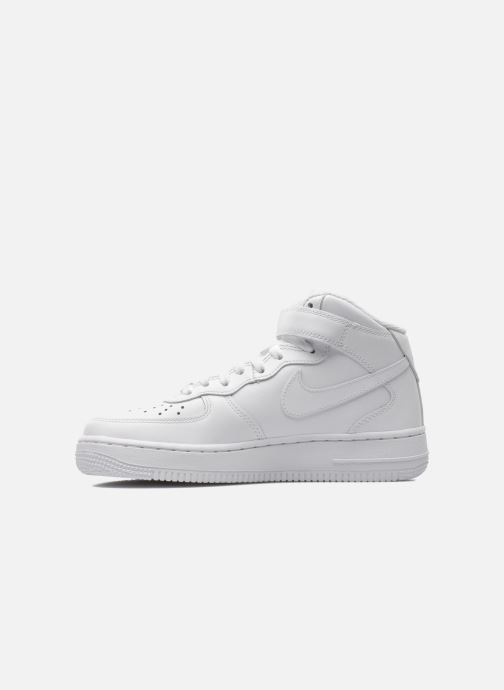 Sneakers Nike Wmns Air Force 1 Mid '07 Le Wit voorkant
