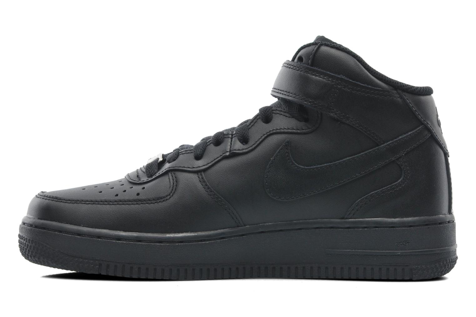Baskets Nike Wmns Air Force 1 Mid '07 Le Noir vue face