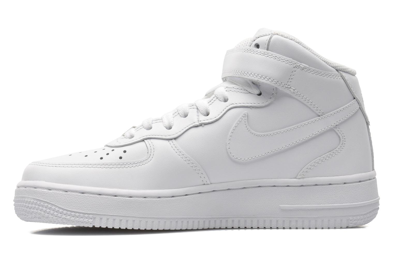 Baskets Nike Wmns Air Force 1 Mid '07 Le Blanc vue face