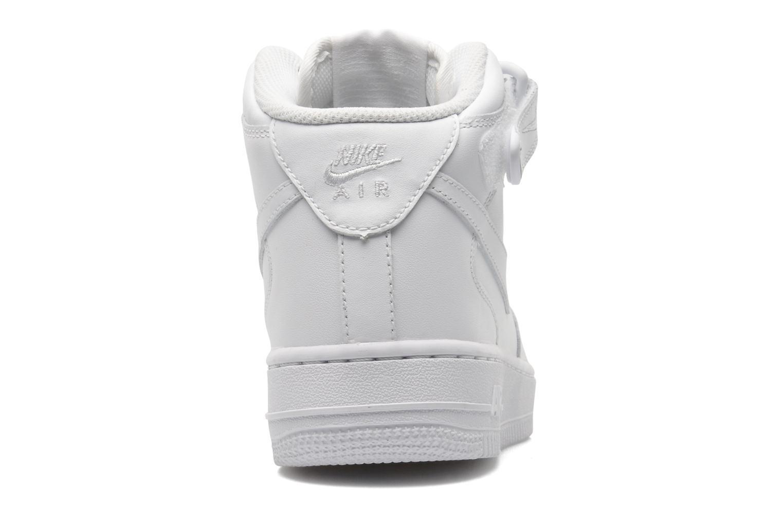 Baskets Nike Wmns Air Force 1 Mid '07 Le Blanc vue droite