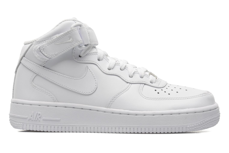 Baskets Nike Wmns Air Force 1 Mid '07 Le Blanc vue derrière