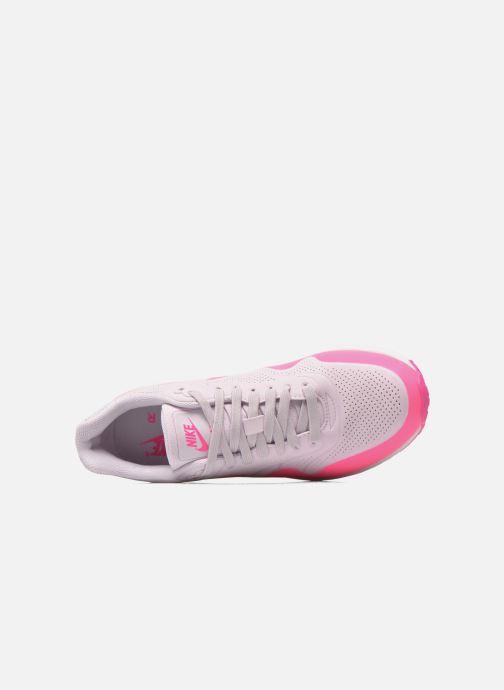 Sneaker Nike Wmns Air Max 1 Ultra Moire rosa ansicht von links