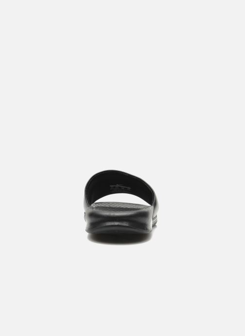 Zuecos Nike Wmns Benassi Jdi Negro vista lateral derecha
