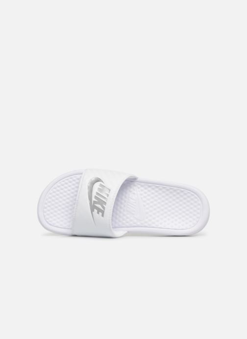 Mules & clogs Nike Wmns Benassi Jdi White view from the left