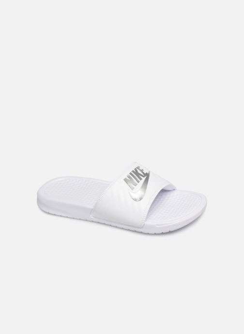 Clogs & Pantoletten Nike Wmns Benassi Jdi weiß detaillierte ansicht/modell
