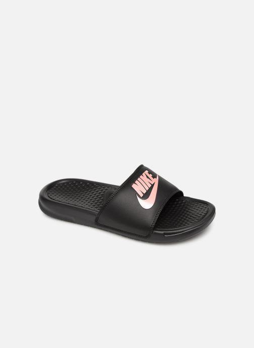 Zuecos Nike Wmns Benassi Jdi Negro vista de detalle / par