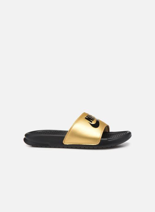 Mules et sabots Nike Wmns Benassi Jdi Or et bronze vue derrière
