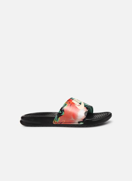 Wedges Nike Wmns Benassi Jdi Print Zwart achterkant