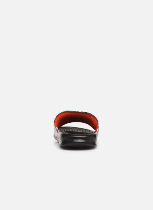 Mules et sabots Nike Wmns Benassi Jdi Print Rouge vue droite